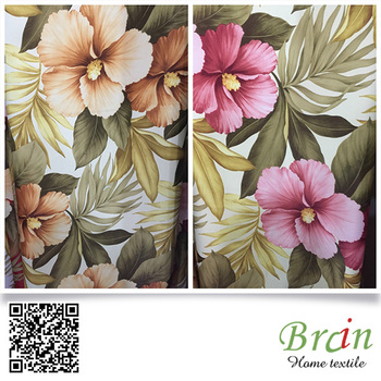 Amazing Flower Design Home Textile Floral Large Print Curtain Fabric Buy Large Print Curtain Fabric Floral Large Print Curtain Fabric Flower Large