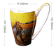 Van Gogh drawing oil painting the sower of the setting sun large capacity creative ceramic mugs oem