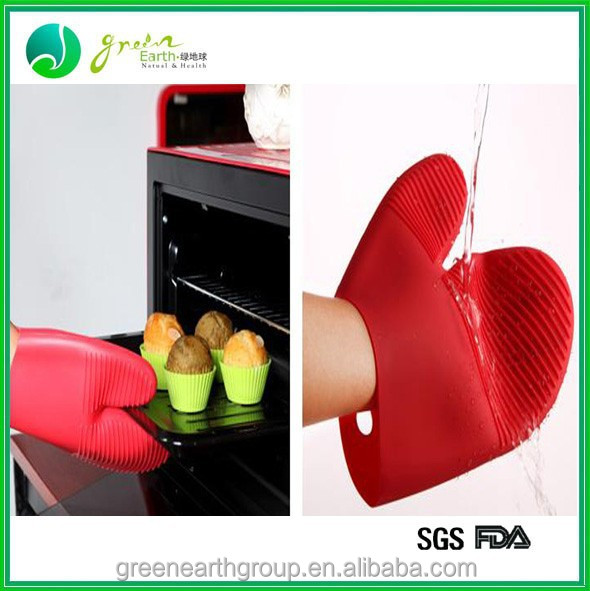 2014 Hot sale oven silicone fireproof gloves