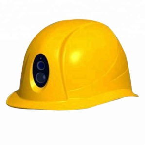 safety helmet 3G 4G sim card ip cctv camera with GPS two way audio