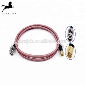 XMR-SPTX-21 Free sample bnc to sma connector rg316 jumper cable