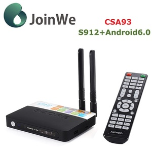 Super IPTV+Amlogic S912 CSA93 Android 6.0 TV Box 2GB/16GB Dual WIFI BT4.0 H.265 4K Netherlands Portugal Italian Adult IPTV Box