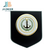 High quality custom UAE navy logos brass material 24k gold metal trophy award plates