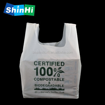 New Products Packaging En13432 Bpi Compole Plastic Garbage Bags