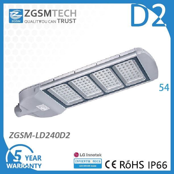 Hot Sell from 2009 CE RoHS Listed 240W Street LED Light