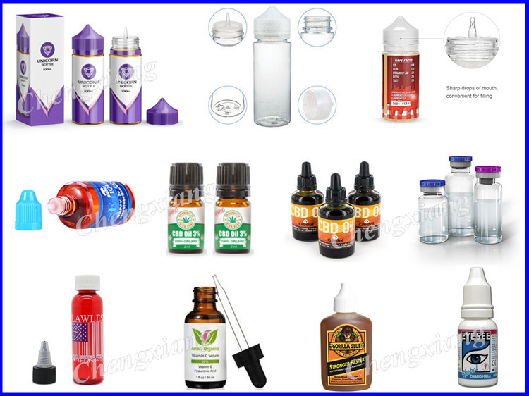 Hot sale in Europe and USA e-liquid filling machine,chubby bottle filling  line, View e-liquid filling machine, Chengxiang Product Details from