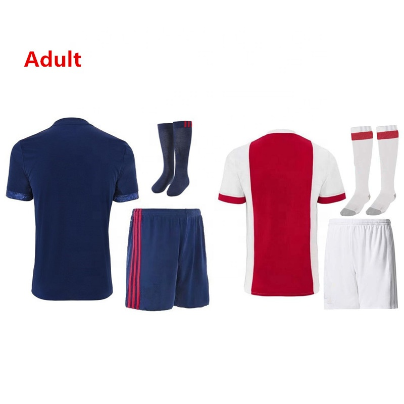 Latest Soccer Wear Wholesale Club Soccer Shirt Jersey Set, Any color is available