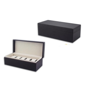 new self-design unisex wrist packaging box leather storage watch box