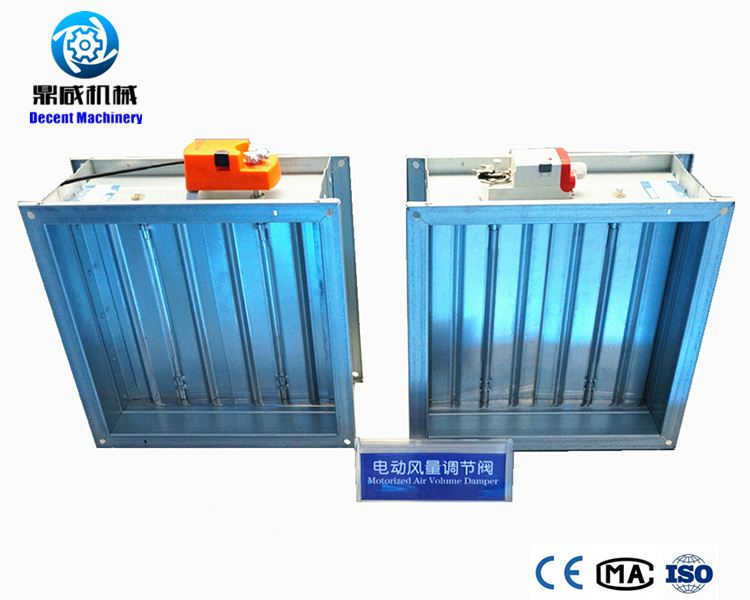 Air conditioning automatic gas pinch bellows damper valve