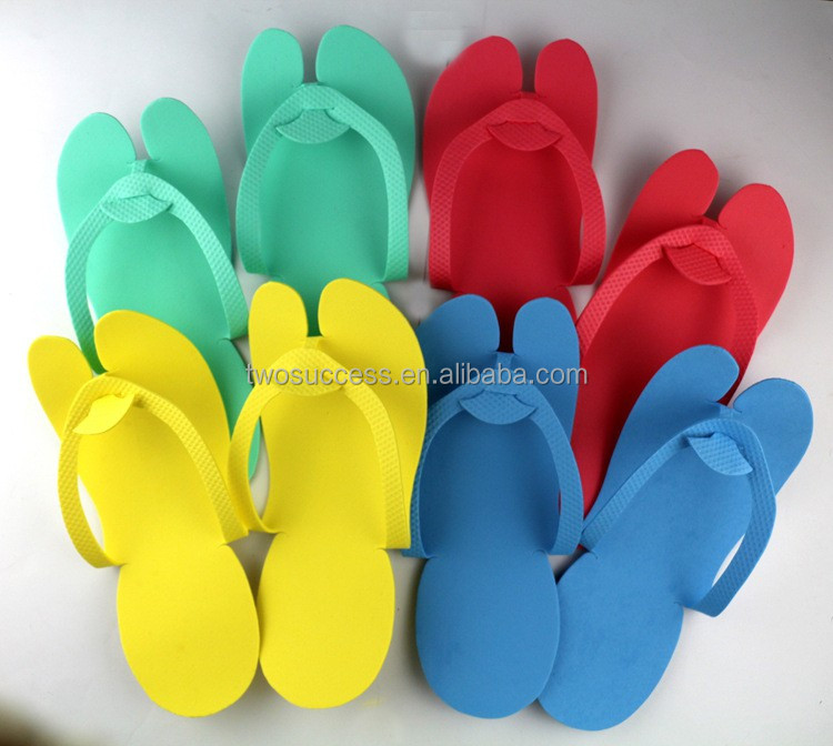 hotel disposable rubber sandals cheap SPA open toe slippers