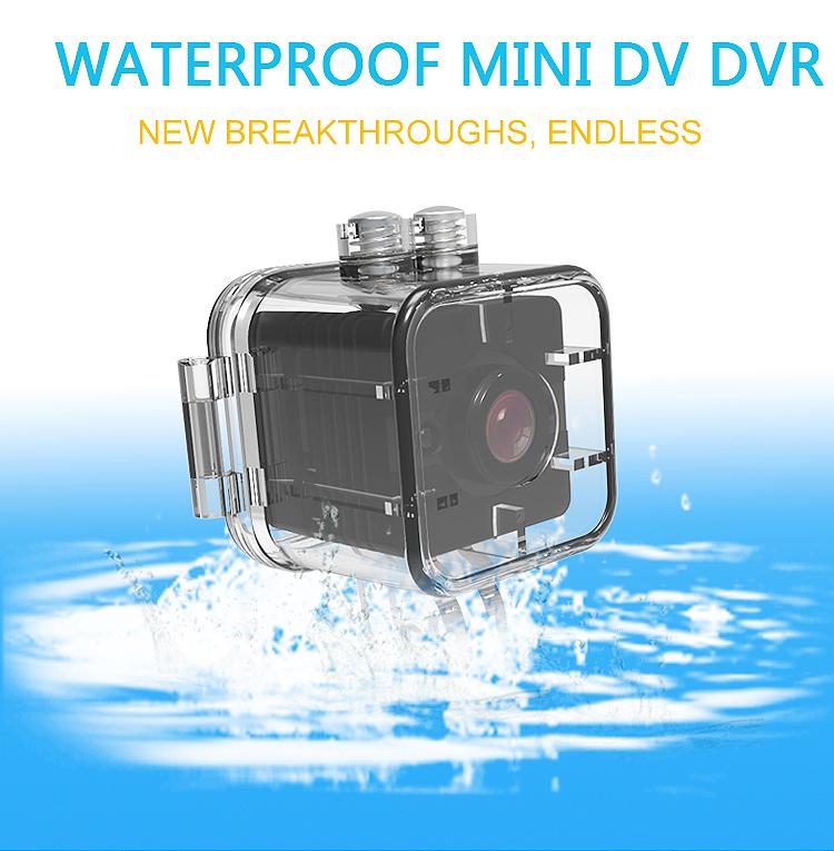 Mini Camera SQ12 Recorder Motion Sensor Night Vision Waterproof Hidden Camera Micro Cam Full HD 1080P Recorder