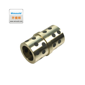 Brass guide bushes for press tool die components