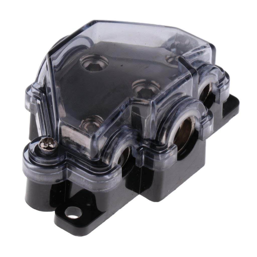 Get Quotations · MagiDeal Car Audio Power/Ground Distribution Block (2GA) 1  In (4GAx1+