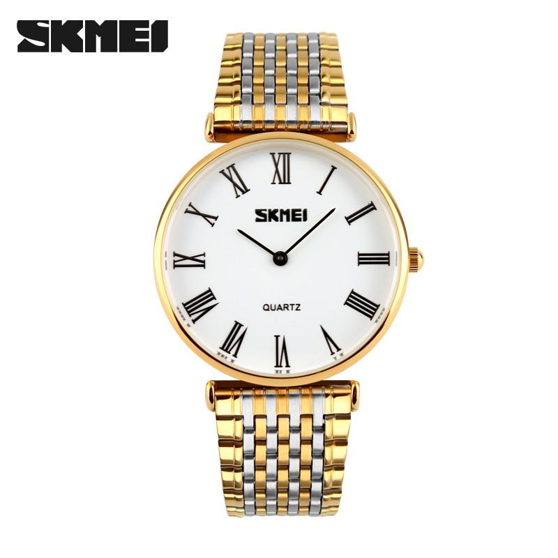 SKMEI 9105 2017 Luxury Brand Quartz Watch Men Waterproof Fashion Casual Sport Watches full steel Wristwatch фото
