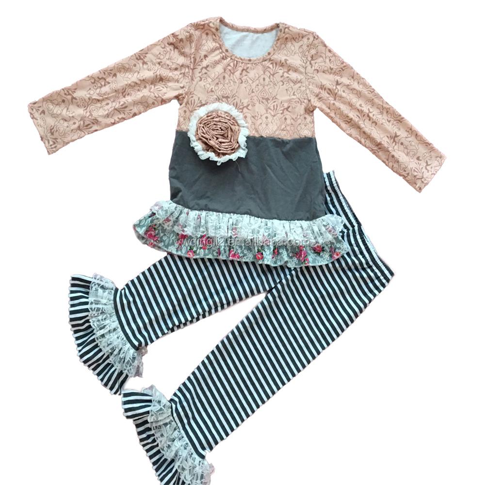 CZ-039 kids wholesale clothing distributors boutique suppliers children wear  floral printed clothes 51eb7cc07d