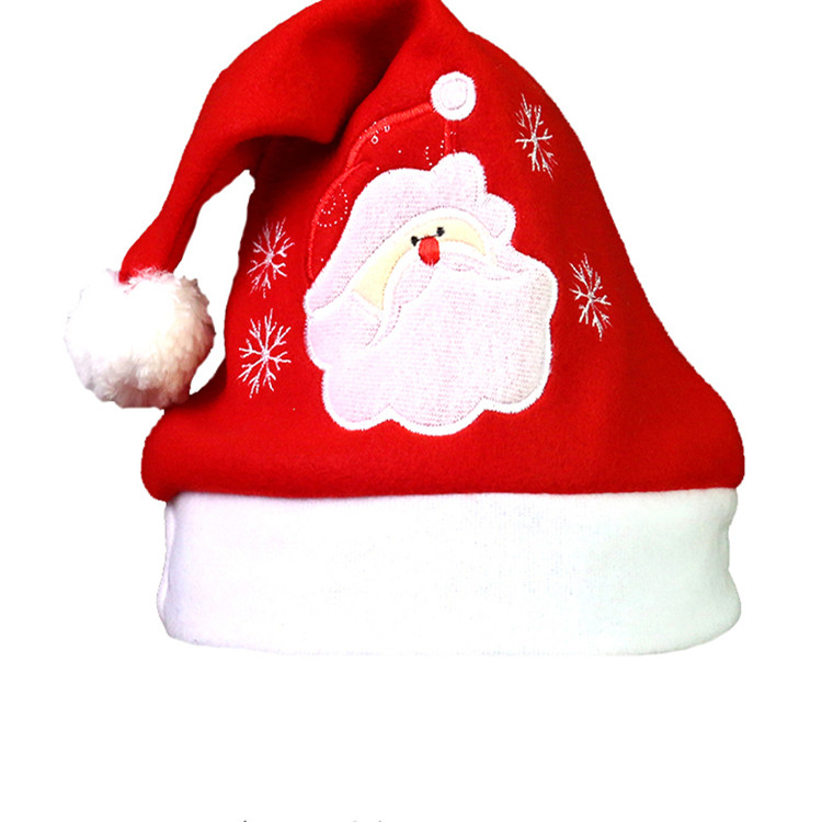 decorated festive bulk holiday silver christmas party girls fluffy santa hats with lights