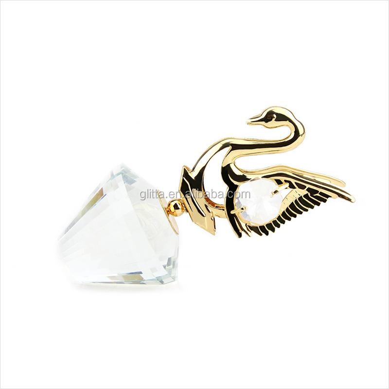 gro handel alibaba glitta mode hochzeitsgeschenke f r g ste kristall gold hochzeitsbevorzugungen. Black Bedroom Furniture Sets. Home Design Ideas