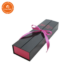 Custom Hair Extension Packaging Box with Satin for Gift