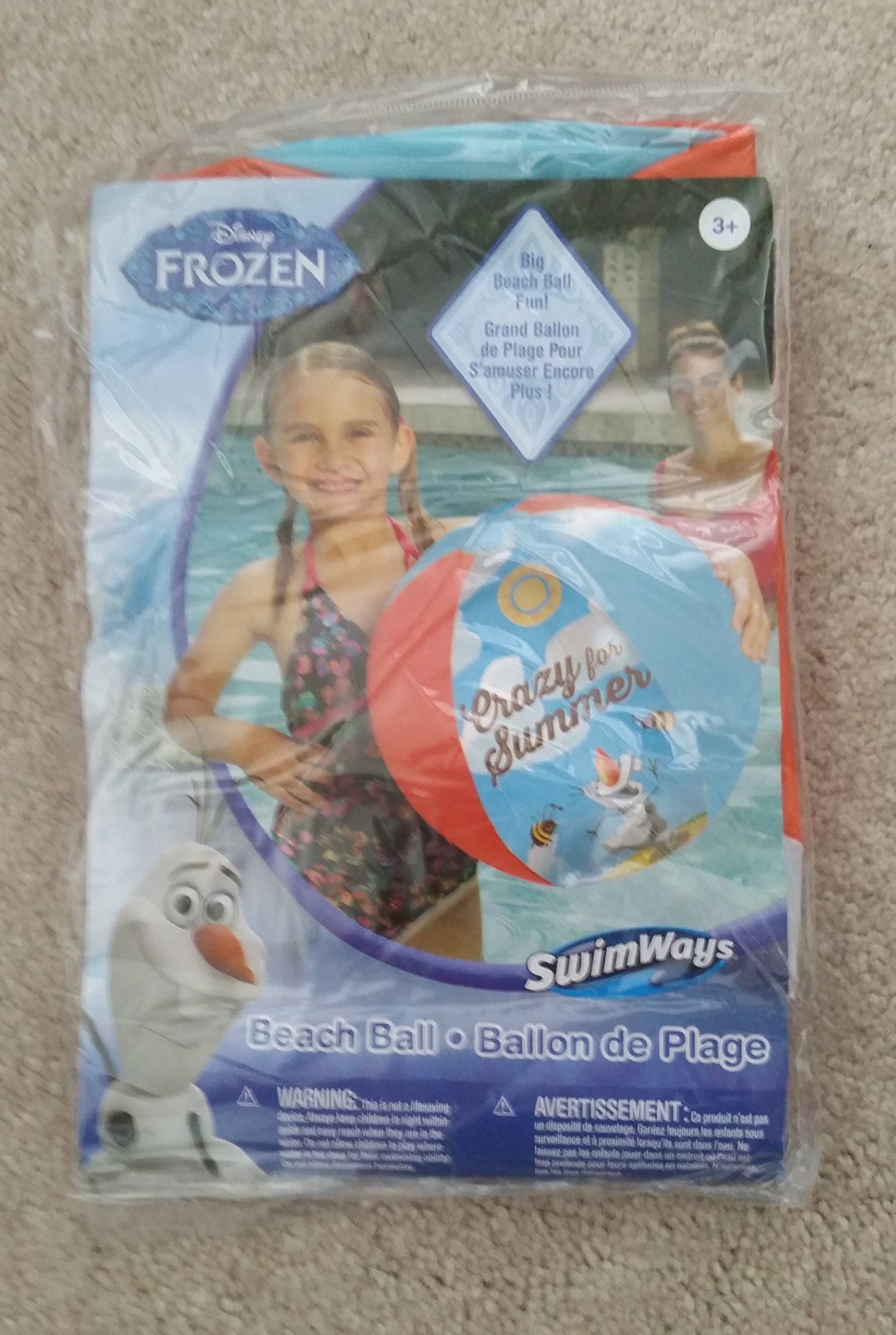 "Disney Frozen ""Crazy for Summer"" Beach Ball"
