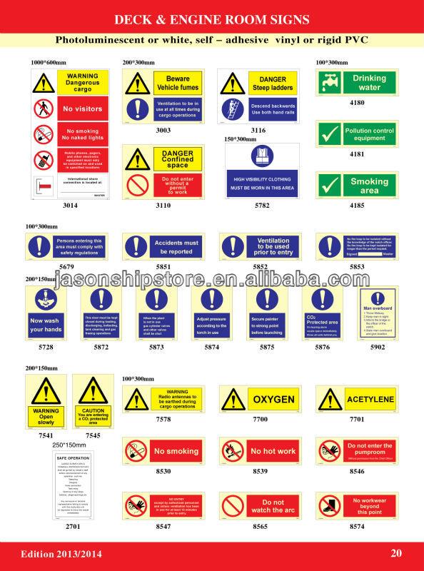 Deck And Engine Room Sign Imo Symbols Buy Imo Symbolsdeck And
