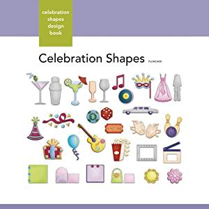 Xyron Celebration-Shapes Design Book for Xyron Personal Cutting System