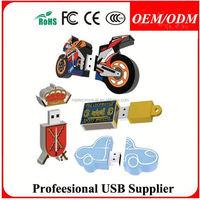 Free logo/design/sample,contemporary robot pvc usb custom usb flash drive,electronic promotional gifts
