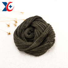 Craftsmanship acrylic knitted scarf