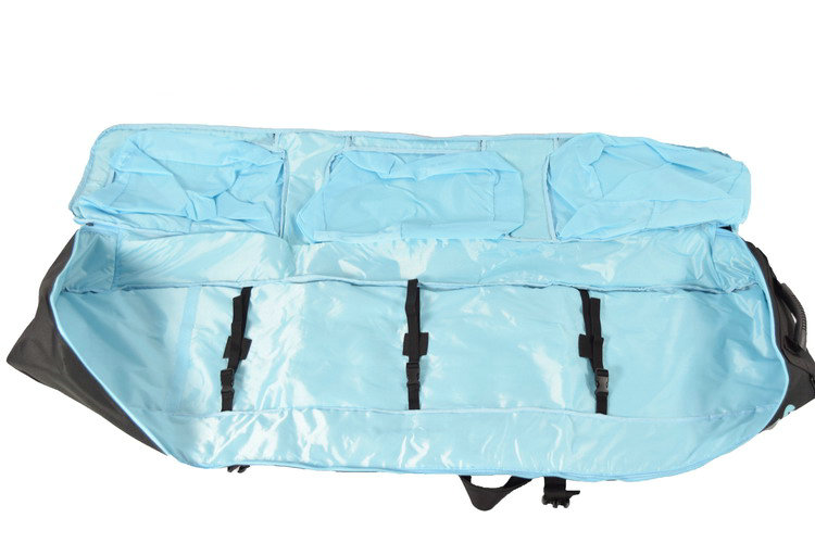 Bolsa protetora grande monoboard para esquiar, equipamento