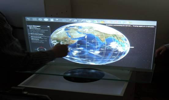Fast Shipping 47 Interactive USB touch foil throuhgh glass 4 points capacitive touch screen film