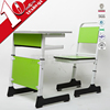 best selling simple design adjustable wooden children desk and chair