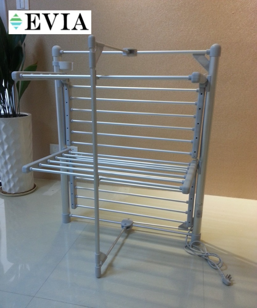 Folding style 2 tiers Electric clothes hanger rack,MINI CLOTHES DRYER,Cloth Rack
