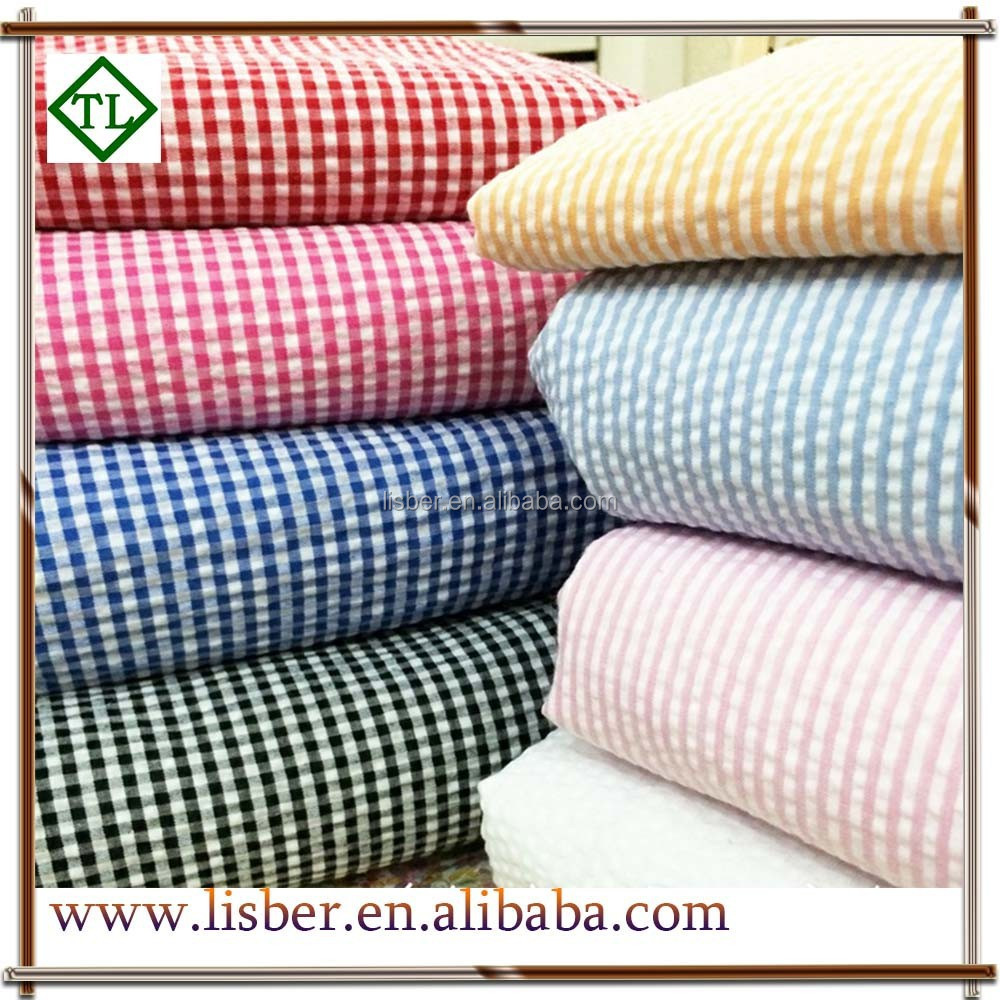 100 Cotton Seersucker Fabric Embroidered Seersucker Fabric Buy