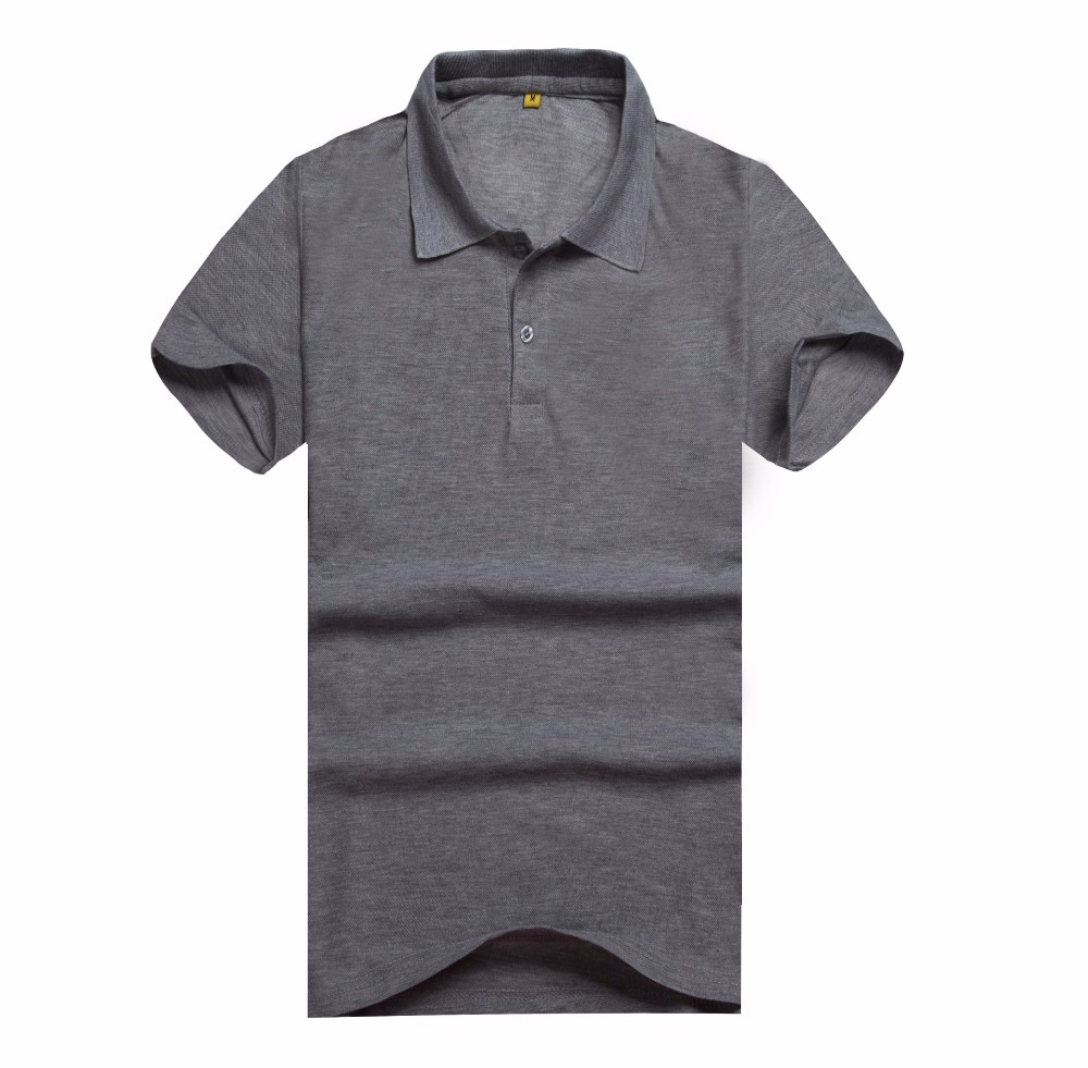 Fashion blank cotton custom wholesale man polo t shirt for Custom printed polo shirts cheap