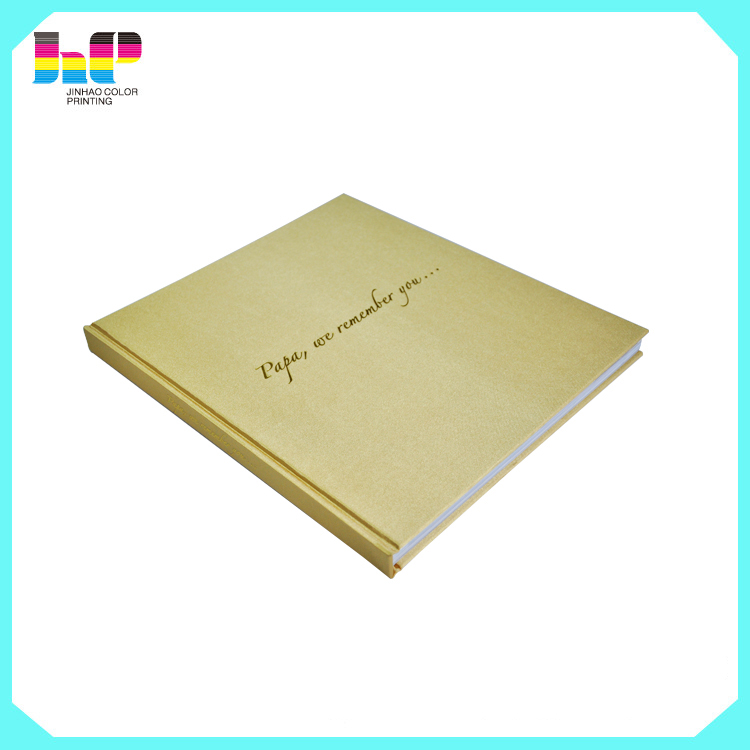 CMYK cloth textured hardcover book printing