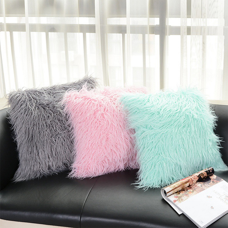 High Quality Fluffy Plush Pillow (6)