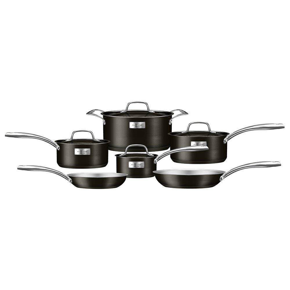 Fleischer & Wolf London Series 10 piece Titanium Cookware Set
