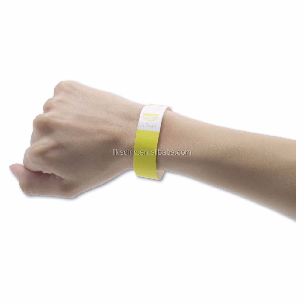 wholesale cheap 3/4'' Tyvek Wristbands for event
