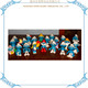 Custom Mini Smurfs Figurines Cartoon Character Plastic Figurine Toy
