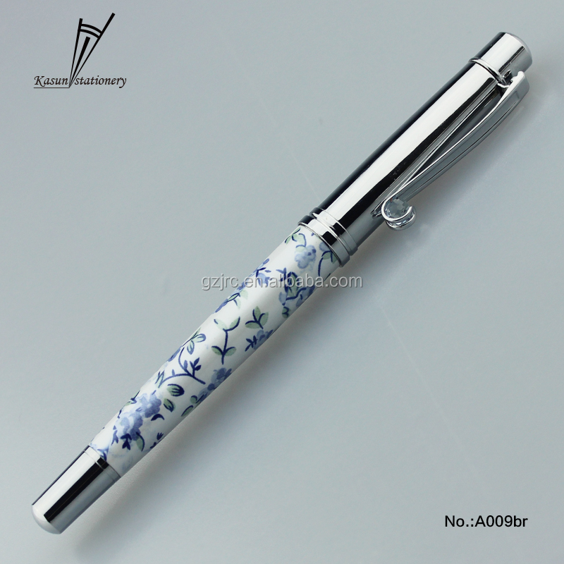 Office Smoothly writing roller pen latest gift items from Kasun