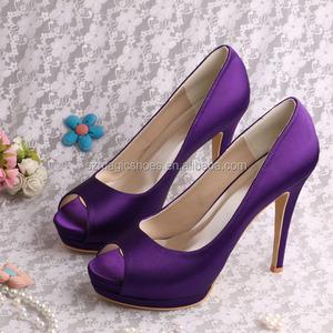 Purple Wedding Heel.Dark Purple High Heel Fashion Shoes Wedding