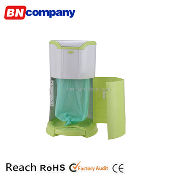 Plastic Clean Air Kitchen Pedal Portable Recycle Garbage Rubbish ...