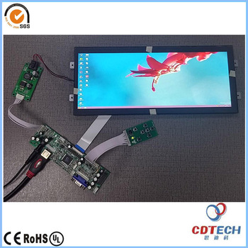 12 3 inch ultra bright tft lcd panel with 1920x720 resolution ultra