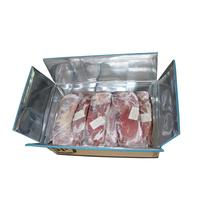 Custom Insulated Foam Shipping Box for Food Packaging Carton Cooler box Meat Boxes