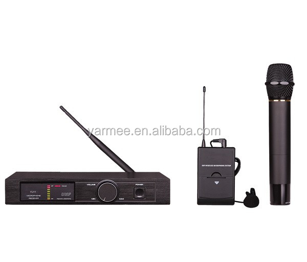 One channel fm wireless portable microphone YU11 from Yarmee