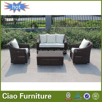 Leisure Garden Used Synthetic Rattan Outdoor Furniture Philippines