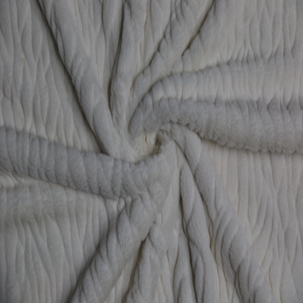 China factory 100% polyester knitted yarndyed cheap bulk white pv plush fabric for bedding,blankets,making soft toys