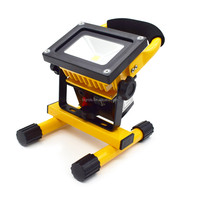 Rechargeable LED Flood Light COB with Travel Charger and Car Charger, 10W Portable Flood Light