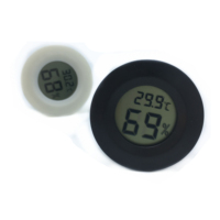 New Fashion Round Digital Thermometer Hygrometer temperature and humidity meterTPM-50 With 6 Colors