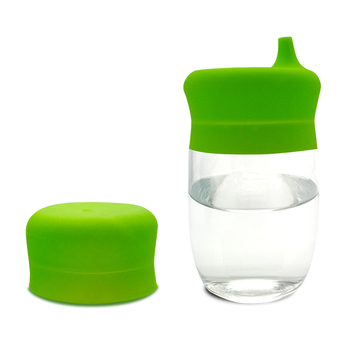 100%  Food Grade Silicone Cup Lids Sippy Cup Lids Silicone Stretch Cup Lids for Kids