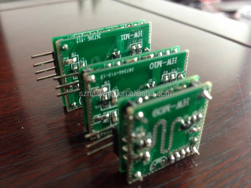 10 525GHZ HW-M10 Cheap price microwave radar motion sensor module for  ceiling light, View radar module, HW Product Details from Shenzhen Haiwang